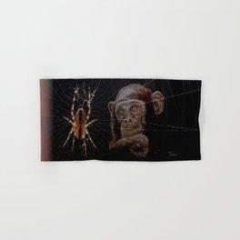 WATCHING THE SPIDER - cversion Hand & Bath Towel