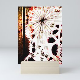 Clock 2 Mini Art Print