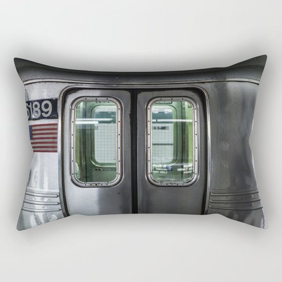 New York City Subway Rectangular Pillow