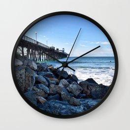 Oceanside Pier, California Wall Clock