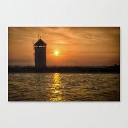 Brightlingsea Beach UK Canvas Print