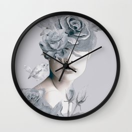 Spring (portrait) Wall Clock