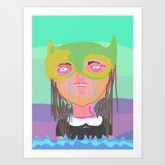 I am the ocean Art Print
