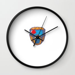 My Balls Look Good on Your Face Paintball T-Shirt Wall Clock