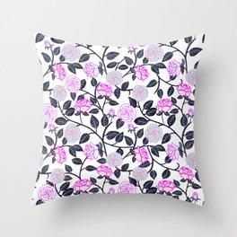 Rose Delight Throw Pillow
