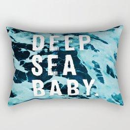 Deep sea baby, Ocean Lovers Rectangular Pillow