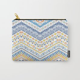 Tuscany Large Tile Pattern Carry-All Pouch