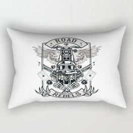 Road Rebels Rectangular Pillow