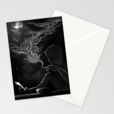 Twisted Reflection Stationery Cards