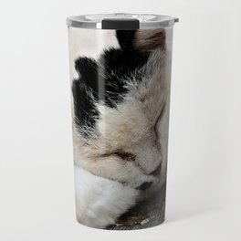 Cat Dreaming Travel Mug