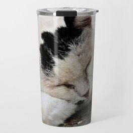 Cat Dreaming Travel Mug
