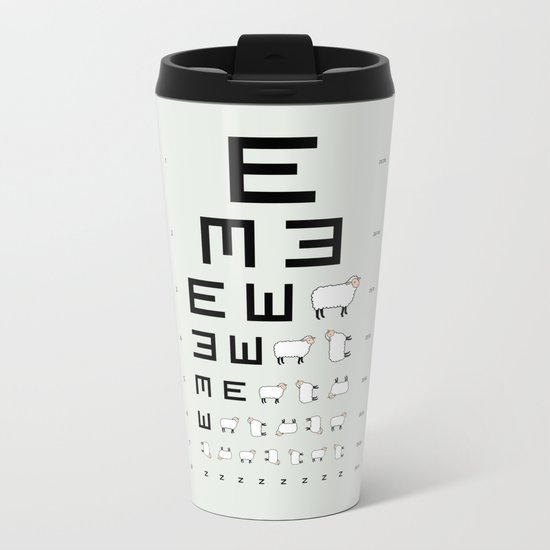 The EWE Chart Metal Travel Mug