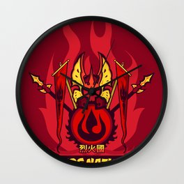 Avatar Nations Series - Fire Nation Wall Clock