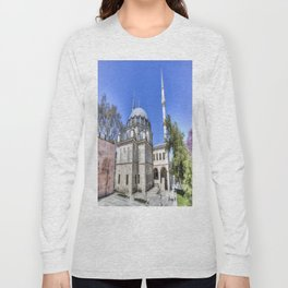 Istanbul Mosque Long Sleeve T-shirt
