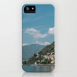 Lake Como (Italy) iPhone Case