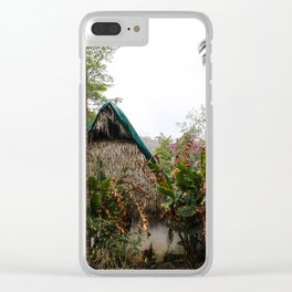 Dreamy Mexican Casa Clear iPhone Case