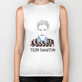 Tilda Swinton Biker Tank