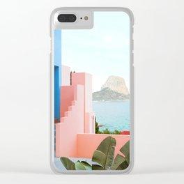Muralla Roja Clear iPhone Case