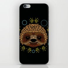 Sloth Face iPhone & iPod Skin