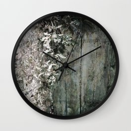 Climbing Vine Wall Clock