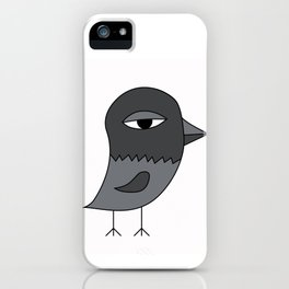 Big Eye Pigeon iPhone Case