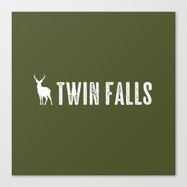 Deer: Twin Falls, Idaho Canvas Print