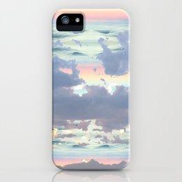 Pastel Ocean Sky iPhone Case
