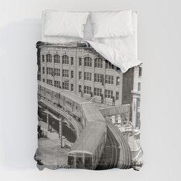 Brown Line Comforters