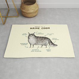 Anatomy of a Maine Coon Rug