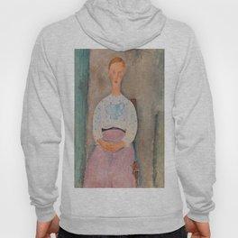 Amedeo Modigliani, Girl with a Polka-Dot Blouse, 1919 Hoody