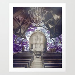 chapel song Art Print