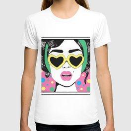 Heart Eyes 2 T-shirt