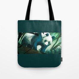 The Lurking Panda Tote Bag