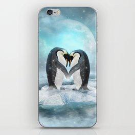 Listen Hard (Penguin Dreams) iPhone Skin