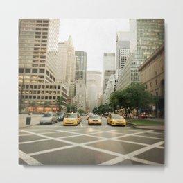 Pick A Cab Metal Print