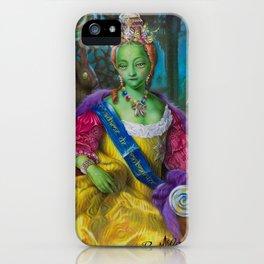 the Candy Queen / Madame de Bonbonniere iPhone Case
