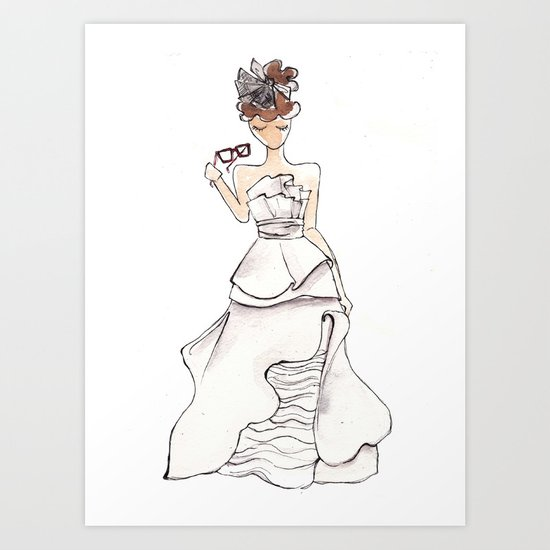 Today I met the man I am going to marry. Art Print