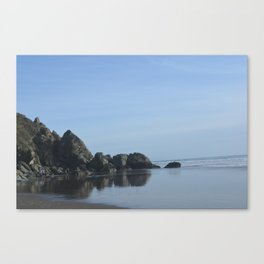Stinson Beach Reflections  Canvas Print