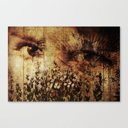 In Your Mothers Eyes Canvas Print