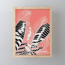 Twister Palm Riddle Framed Mini Art Print