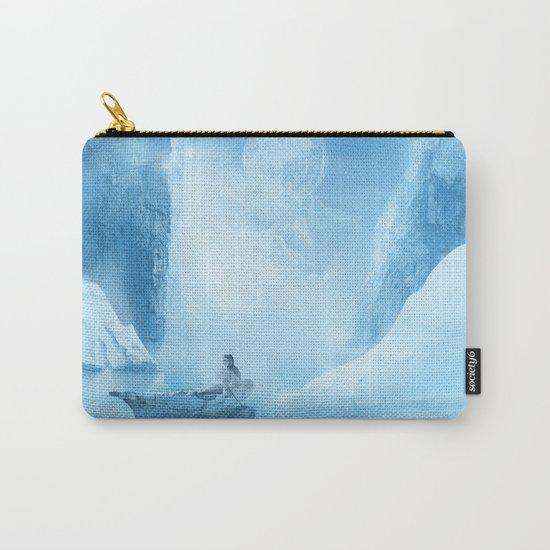 white landscape Carry-All Pouch