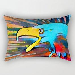 Bald Eagle 3 Rectangular Pillow