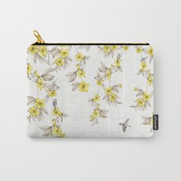 Birds and Cherry blossoms II Carry-All Pouch