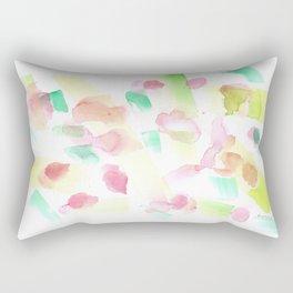 180527 Abstract Watercolour 7  Watercolor Brush Strokes Rectangular Pillow
