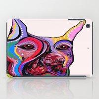 doberman iPad Cases featuring Doberman by EloiseArt