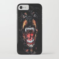givenchy iPhone & iPod Cases featuring Givenchy Rottweiler by sixsociety