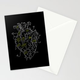 Gaming Control Tools   Heart Stationery Cards