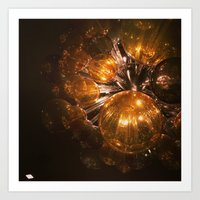 Going to swing from the chandelier Art Print