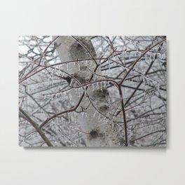 Icestorm I Metal Print