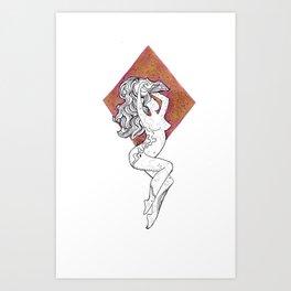 Cosmic Beauty III (Estrella) Art Print